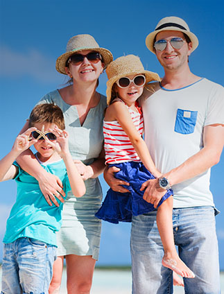 Roteiros para Famílias